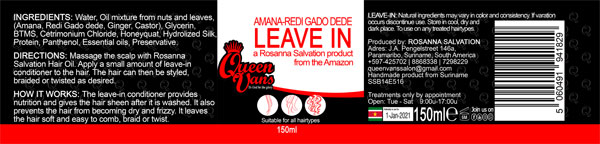 4d SSB14E516 5060491941829 Queen Vans Leave In Amana Redi Gado dede 150ml 185mmx40mm RGB 1200px