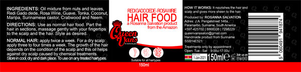 6h SSB14E521 5060491941874 Queen Vans Hair Food Redi Gado dede Rosa Wirie 150ml 185mmx40mm RGB 1200px